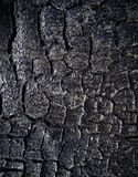 The surface of the coal Stock Image