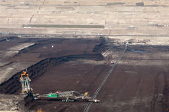 Surface Coal Mining-excavation Stock Photos