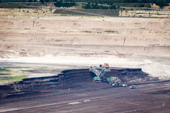 Surface coal mining Stock Photography