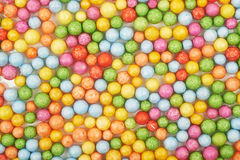 Surface coated with colorful balls stock photo