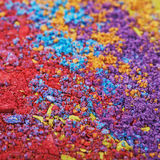 Surface coated with the paint pigment Royalty Free Stock Photos
