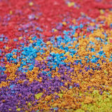 Surface coated with the paint pigment Royalty Free Stock Photo