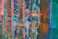 Surface colorée de rouille images stock
