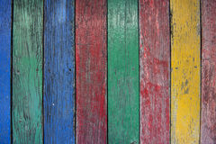 Surface color old wooden for the background stock photo