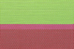 Surface of Colorful plastic pattern. Stock Image