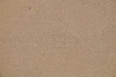 Close-up on a plastered wall. The surface of the concrete wall: stock image