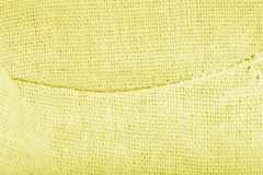 Surface of cotton cloth for a natural background. Toned.  stock photography