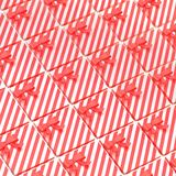 Surface covered with gift boxes Royalty Free Stock Photos