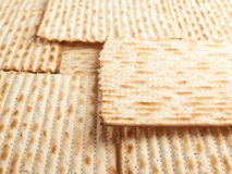 Surface covered with matza flatbread Stock Image