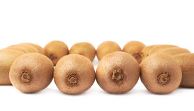 Surface covered with multiple kiwifruits Royalty Free Stock Photography