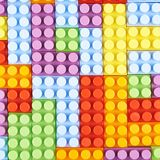 Surface covered with toy bricks royalty free stock image