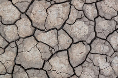 Surface of cracked earth for texture background stock images