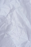 Surface of crumpled paper. Sheet closeup. Rough crumpled paper page Royalty Free Stock Photo