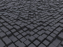 The surface of the cubes Royalty Free Stock Images