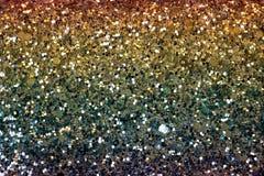 Surface d'or éclatante avec la texture sans couture images libres de droits