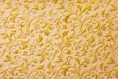 Surface d'or de cru photo stock