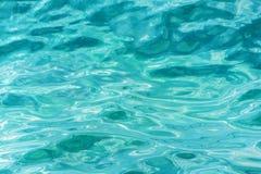 Surface d'eau de mer images libres de droits