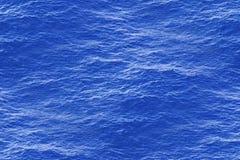 Surface d'eau de mer calme en tant que modèle sans couture Image stock
