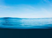 Surface d'océan photo stock