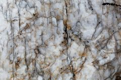 Surface d'une veine de quartz Images libres de droits