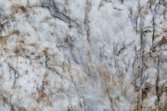 Surface d'une veine de quartz Photographie stock