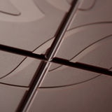 The surface  dark chocolate Stock Photo