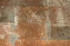 Surface de brique antique chinoise Photos stock