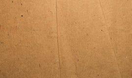 Surface de couleur de brun de coupe et de feuille d?chir?e vieille et de bo?te de papier de carton de cru Fin abstraite de fond d photos stock