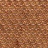 Surface de cuivre en métal illustration libre de droits