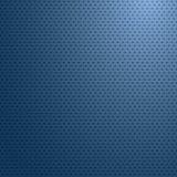 Surface de fibre de carbone avec le papier peint abstrait léger bleu, vecteur Photo stock