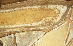 Surface de grès Photos stock