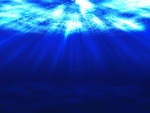 Surface de l'eau photo libre de droits