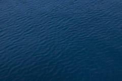 Surface de l'eau bleue photos stock