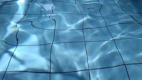 Surface de l'eau de piscine