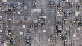 Surface de la science fiction avec les cubes 3D rendre illustration libre de droits
