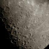 Surface de lune photographie stock libre de droits