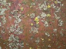 Surface de métal rouillé Photos stock
