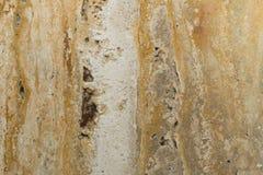 Surface de marbre utilisée pour un mur intérieur Photos libres de droits