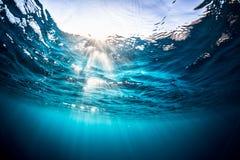 Surface de mer photographie stock libre de droits