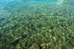 Surface de mer Photos libres de droits