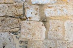 Surface de mur antique de pierre naturelle image libre de droits