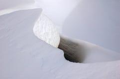 Surface de neige images libres de droits