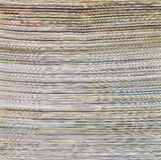 Surface de papier de journal Photographie stock