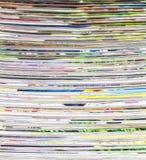 Surface de papier de journal Photos libres de droits
