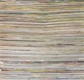 Surface de papier de journal Images stock