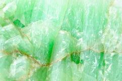 Surface de pierre de jade Photos stock