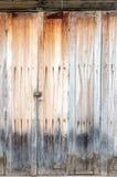 Surface de porte de pliage de maison thaïlandaise image stock