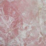 Surface de quartz de Rose Photographie stock