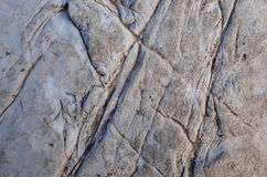 Surface de roche Photos libres de droits