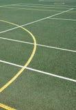 Surface de sports en plein air Photographie stock libre de droits